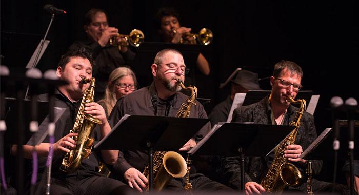 Skyline College Jazz Band
